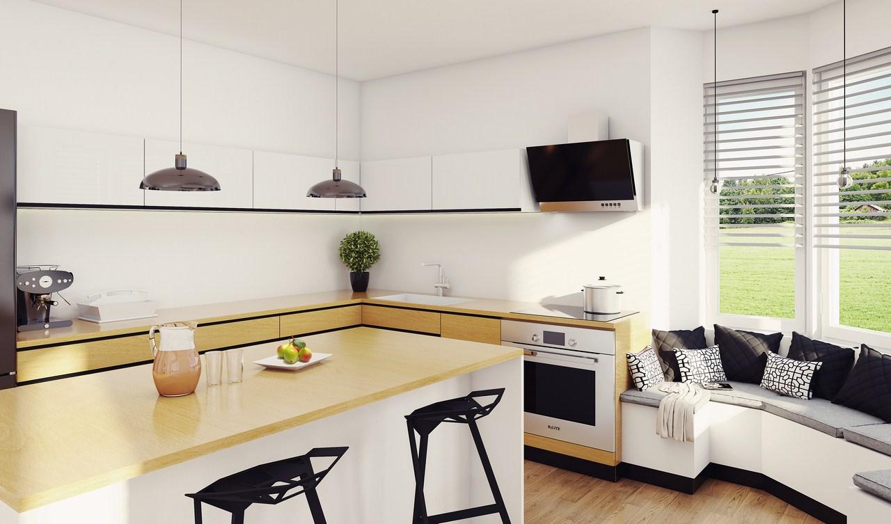 Jaki okap do małej kuchni?  Jaśkowe klimaty Blog   -> Kuchnia Cegla Okap