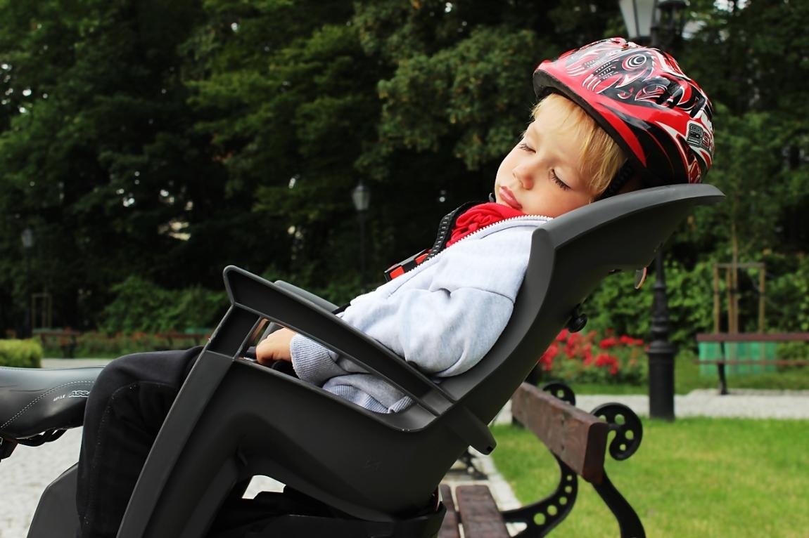 Jak wybrać dobry fotelik rowerowy?