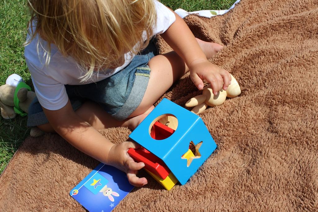 Króliczek Granna - gra logiczna dla przedszkolaka