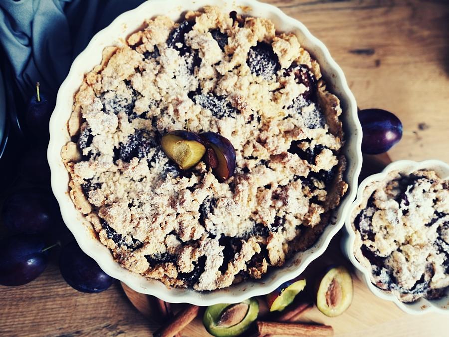 przepis na ciasto kruche z owocami
