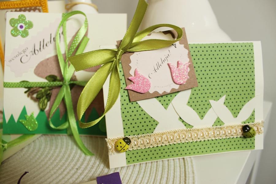 Kartki na Wielkanoc DIY zrób to sam