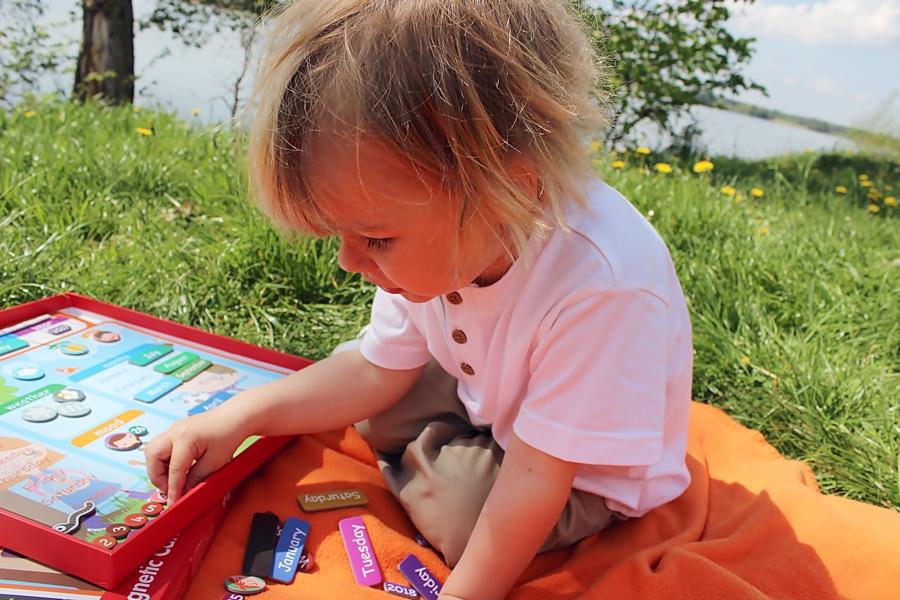 Kalendarz i podróż w czasie, świetna propozycja dla dzieciaków