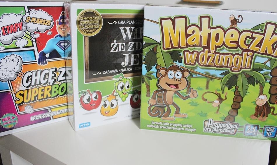 Proste gry planszowe dla przedszkolaków ARTYK + KONKURS (1)