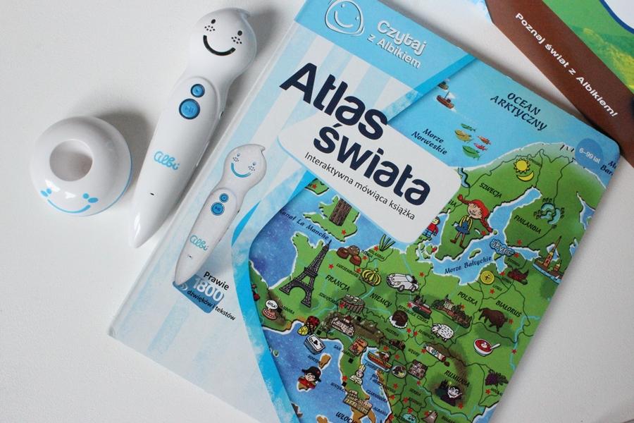 Atlas świata - czytaj z albikiem