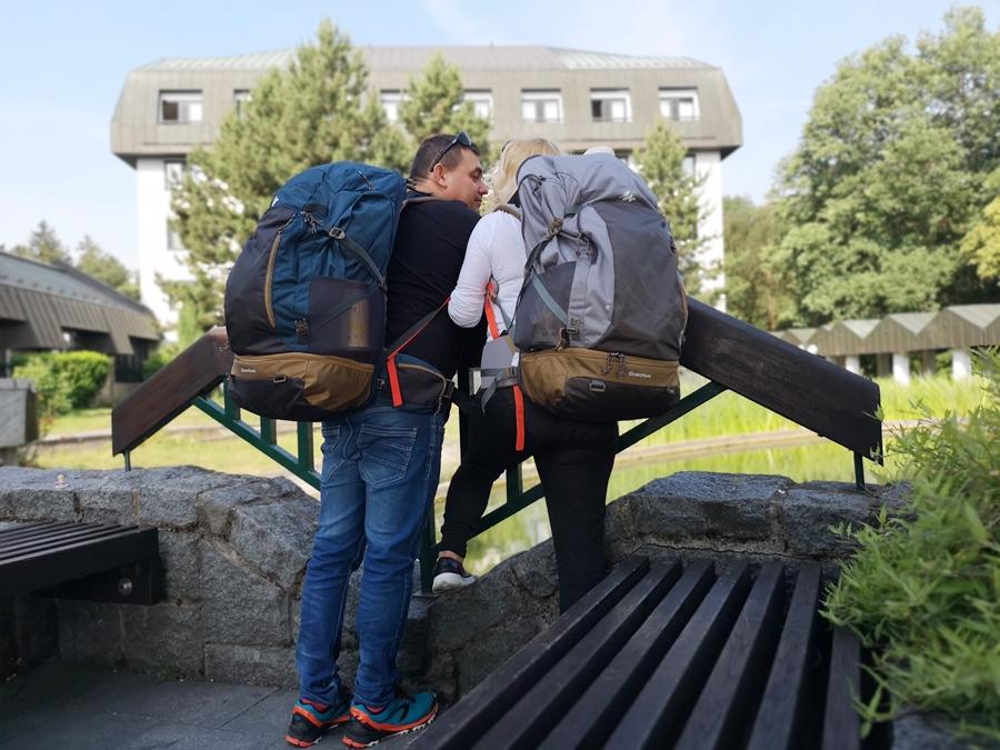Praga z plecakiem