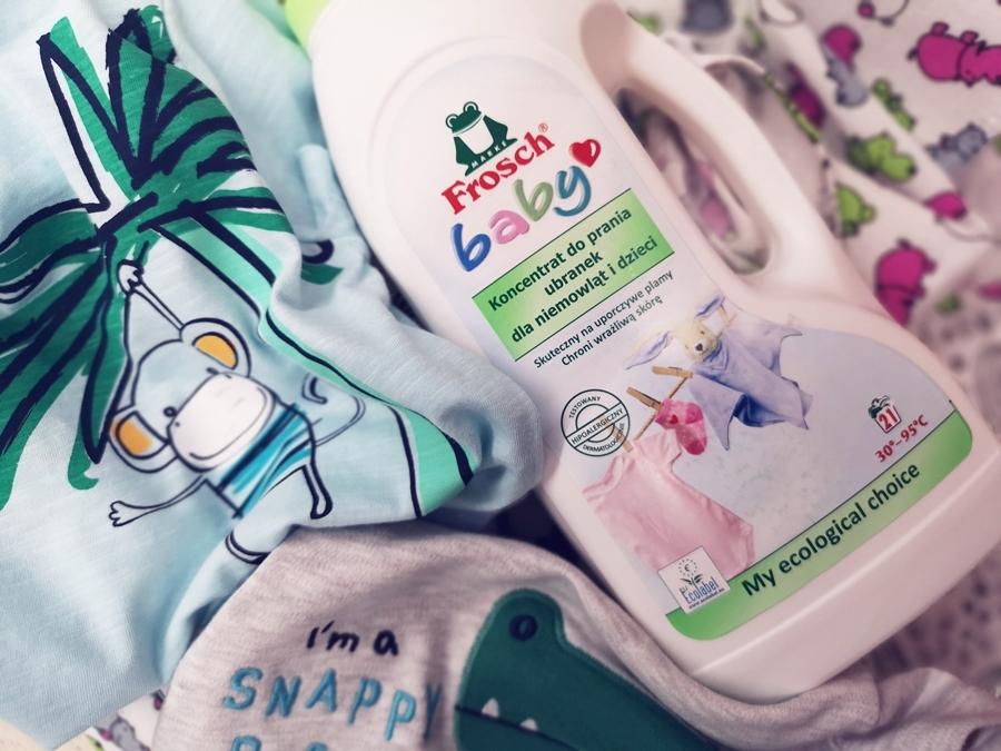 Łagodne detergenty do prania dziecięcych ubrań