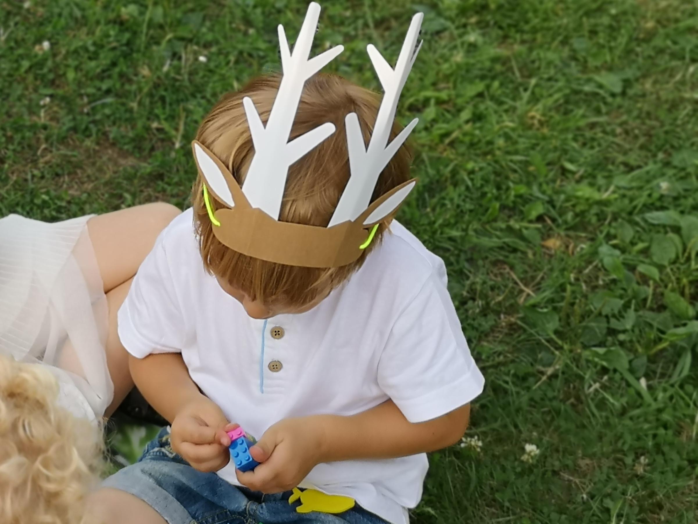 leśne urodziny w plenerze dla dzieci