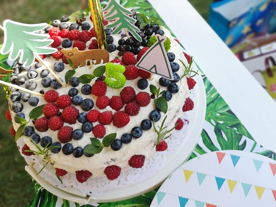 Tort leśny na urodziny