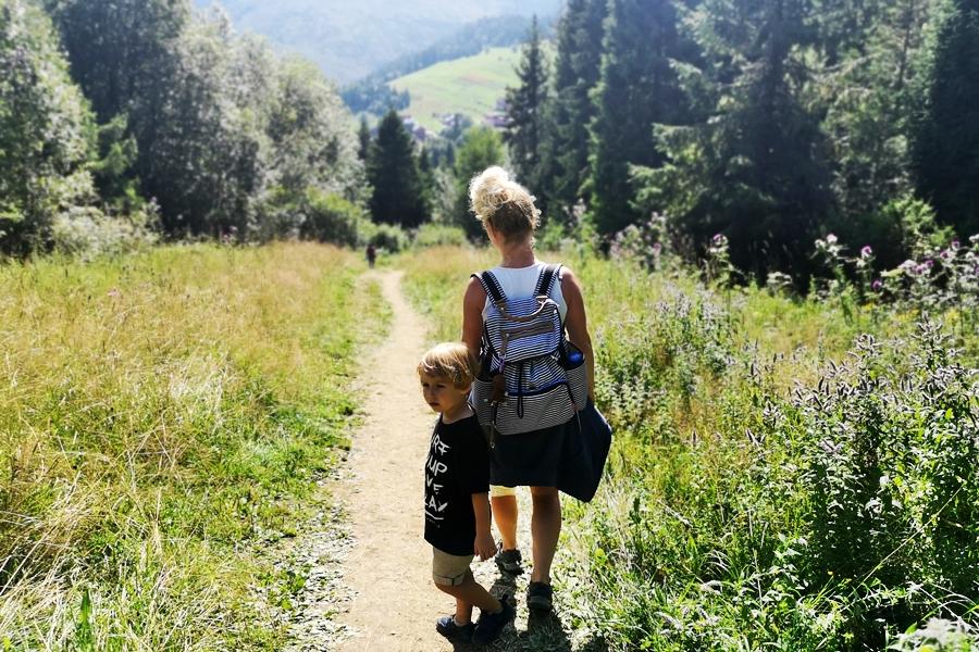 najważniejsze, by być razem i wspólnie dzieckiem odkrywać świat