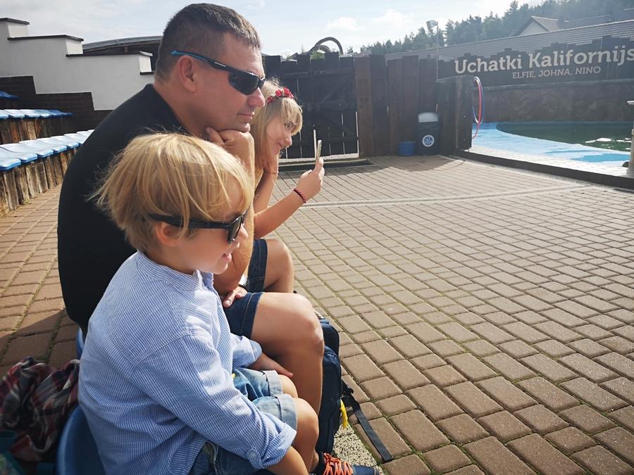 Sea Park Sarbsk z dziećmi