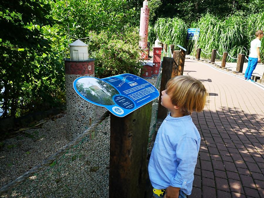 Park miniatur Latarni morskich w Sea Parku