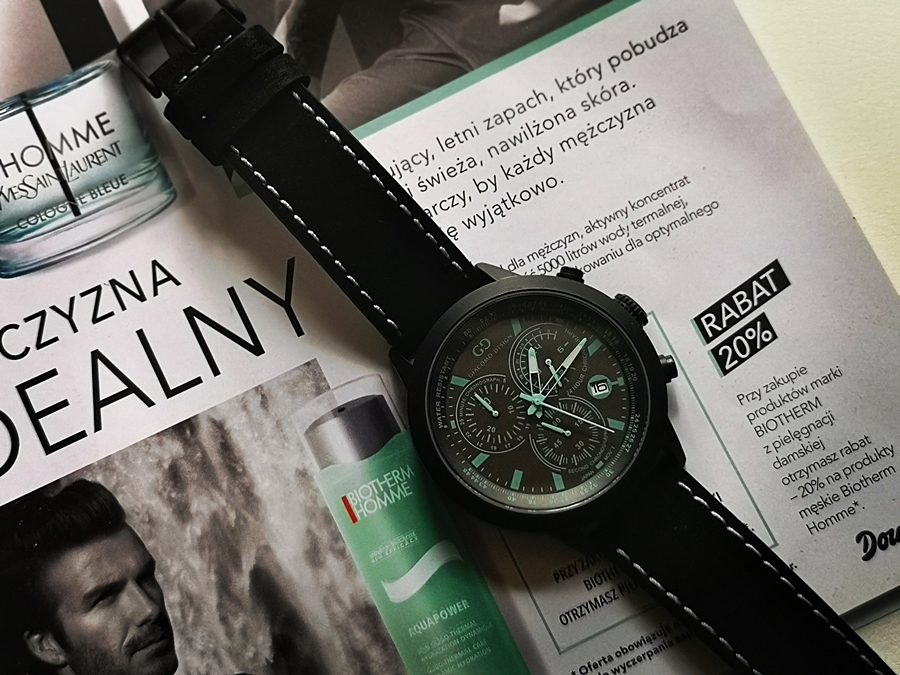 zegarek Giacomo Deasing Sportiva