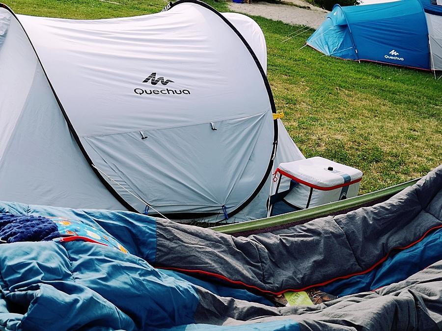 Wypoczynek na campingu