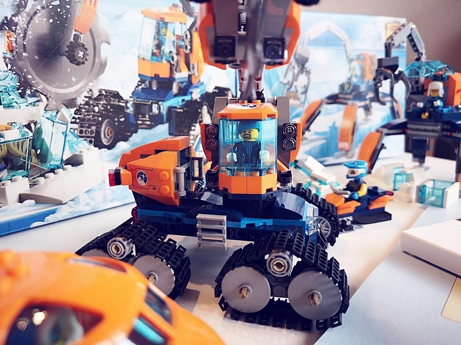 układanie klocków LEGO city arctic instrukcja recenzja