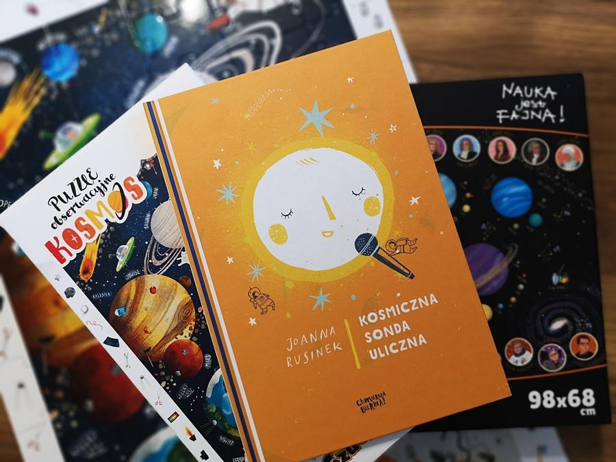 Książka Kosmiczna sonda uloiczna Rusinek