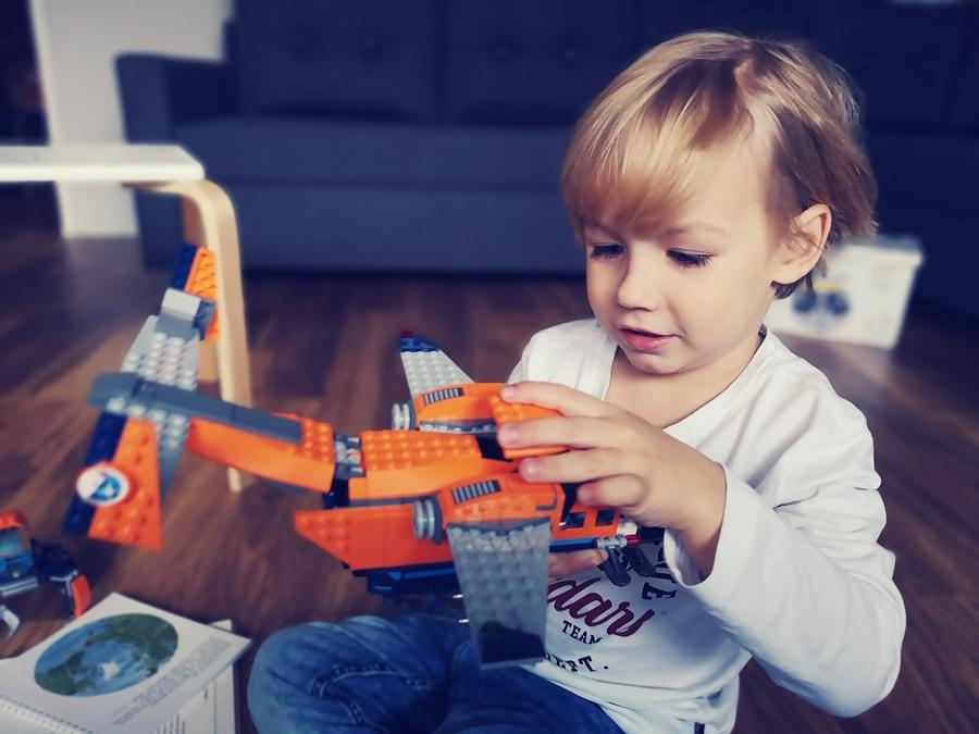 """Lego Arctic """"Arktyczny samolot dostawczy"""""""
