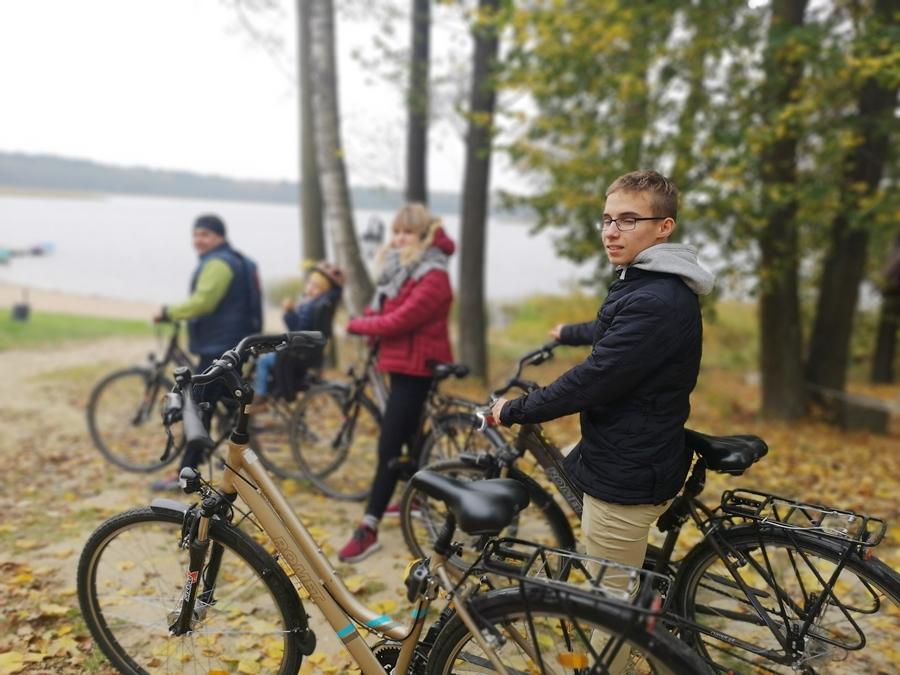 zwiedzamy Mazury na rowerze