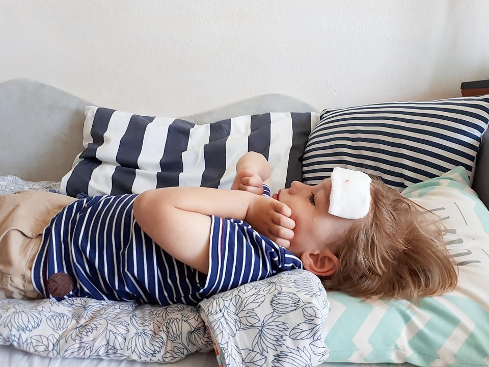 Wypadki w domu u dzieci