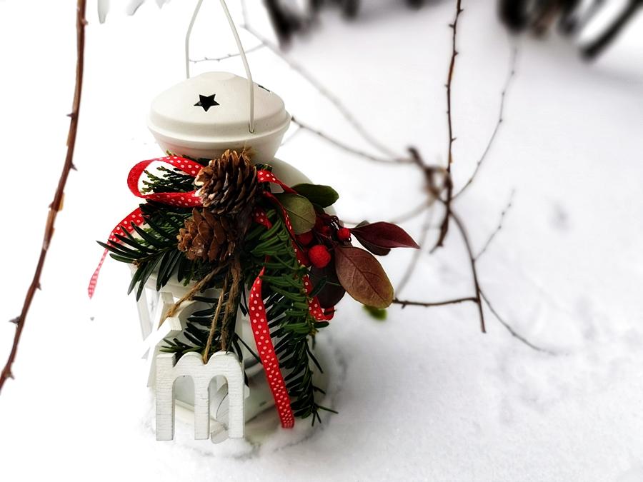 lampion w świątecznej odsłonie