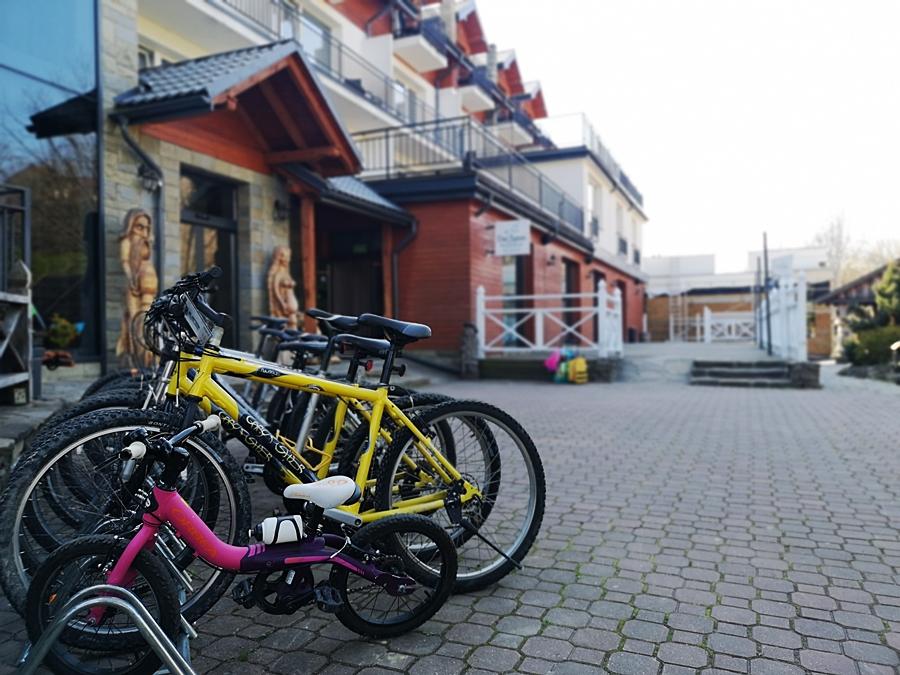 SKALNY SPA I W hotelu można skorzystać z wypożyczalni rowerów..