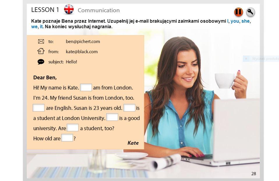 Kurs angielskiego z ESKK