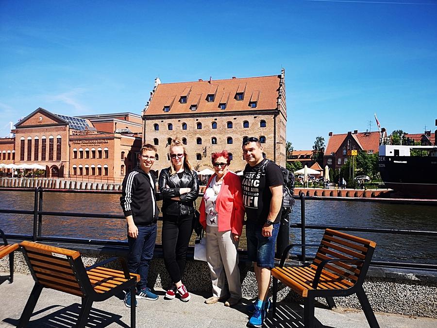 Gdańsk Polska, stare miasto