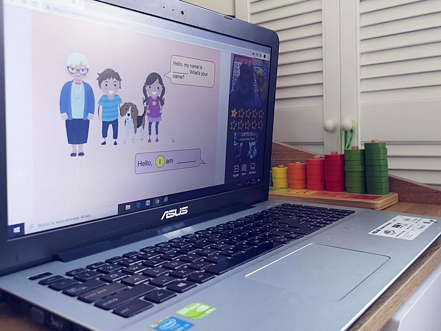 Od popostawiliśmy na naukę języka dla dzieci z NovaKid