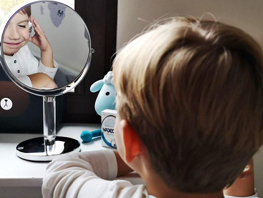 Jak prawidłowo dbać o higienę uszu? Vaxol dla dzieci