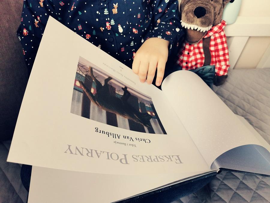 """""""Ekspres Polarny"""" – to jedna z piękniejszych i niezwykle magicznych, świątecznych książek"""
