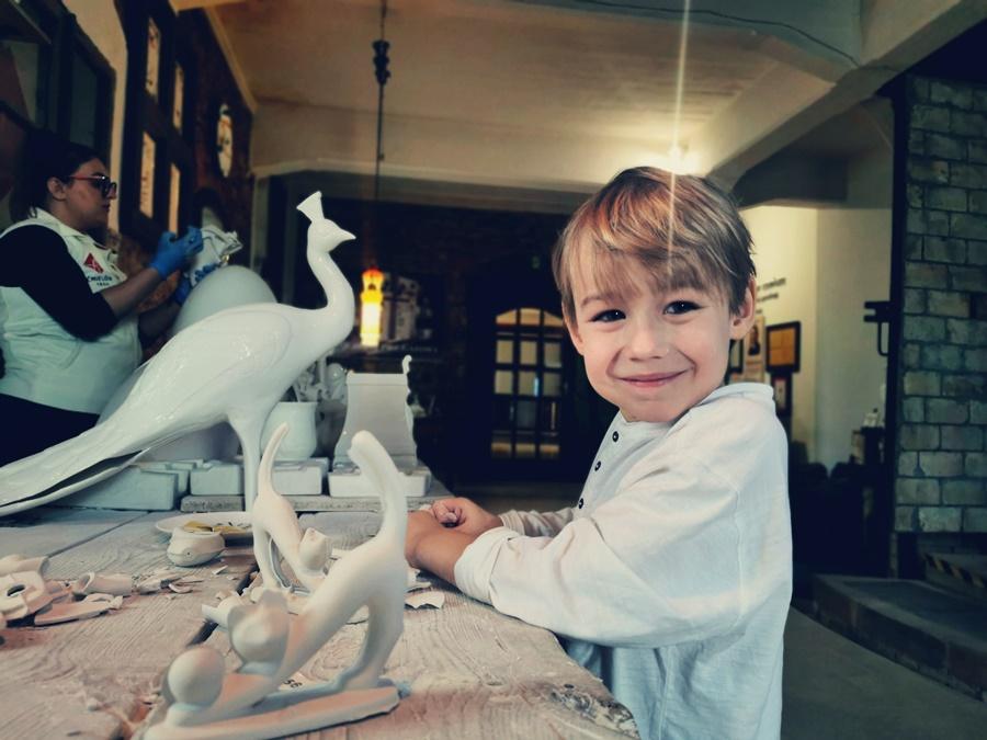 Żywe Muzeum Porcelany w Ćmielowie dla dzieci