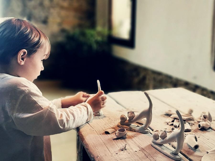 Żywe Muzeum Porcelany w Ćmielowie oczami dziecka
