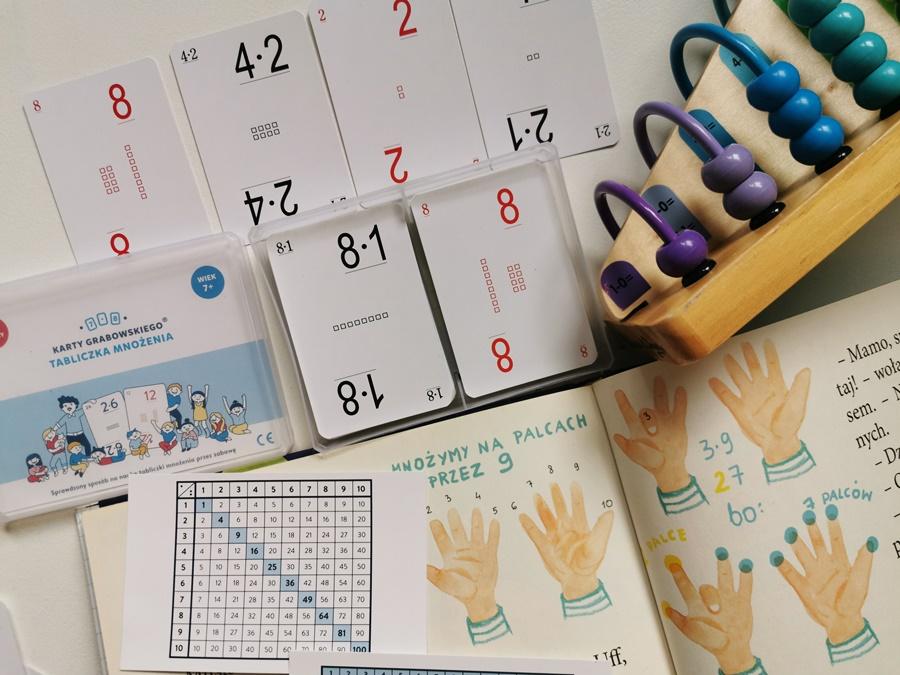 sprawdzone sposoby nauki tabliczki mnożenia