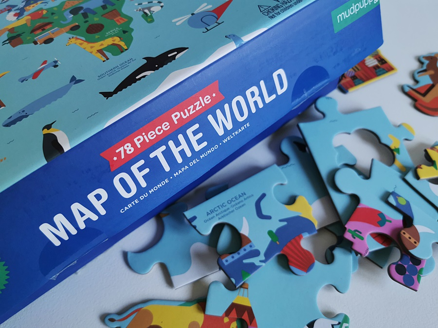 Puzzle z mapami