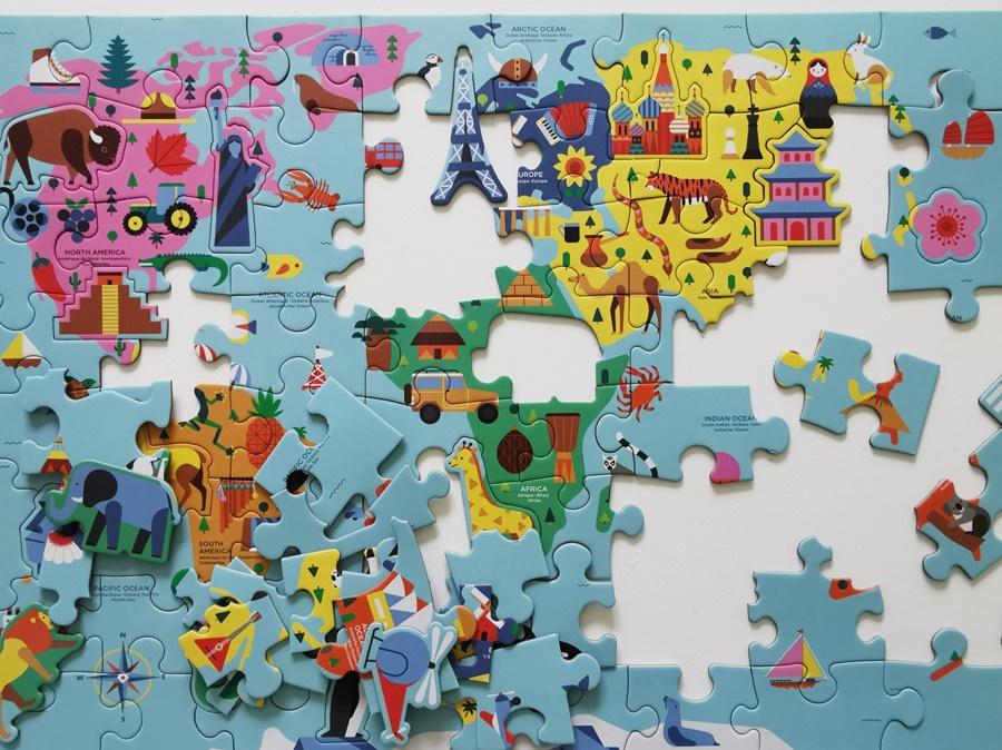 Puzzle z mapami, jakie wybrać
