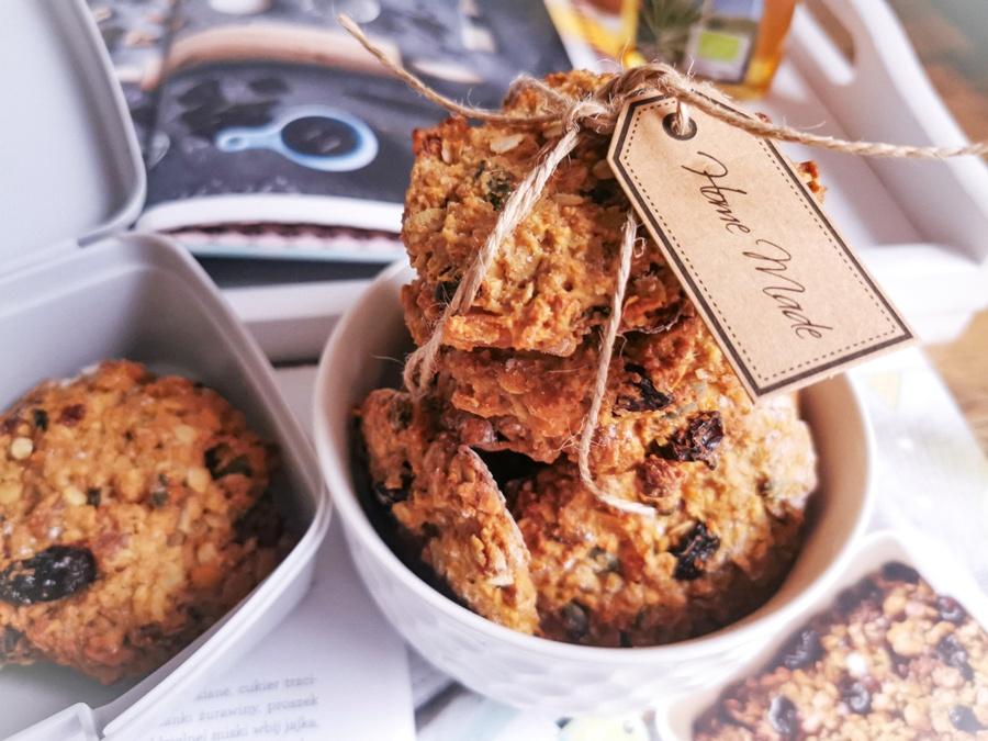 Domowe ciasteczka owsiane – zdrowa przekąska do śniadaniówki