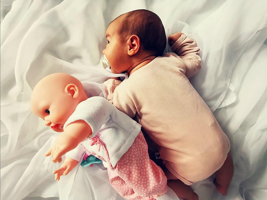lalka dla niemowlaka