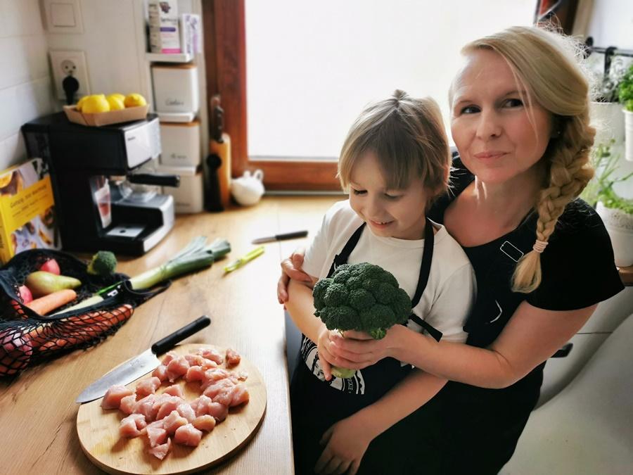 rodzicu gotuj z dzieckiem