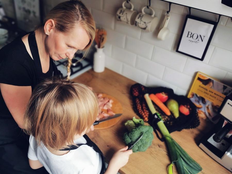 przygotowujemy z dzieckiem dania z indyka