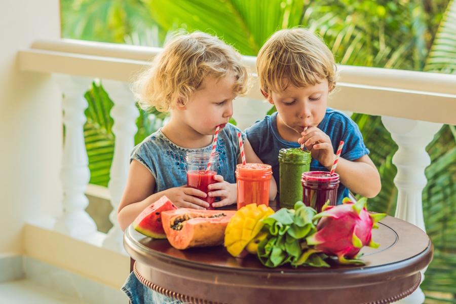 co dawać dzieciom do picia?
