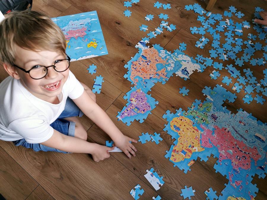 Puzzle edukacyjne Zabytki i cuda świata