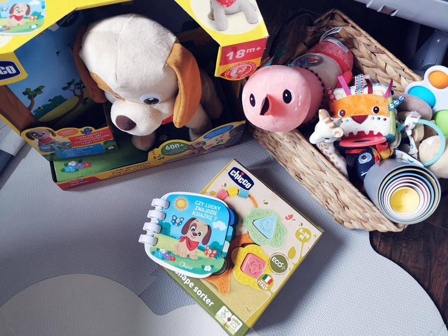 zabawki na dzień dziecka dla niemowlaka